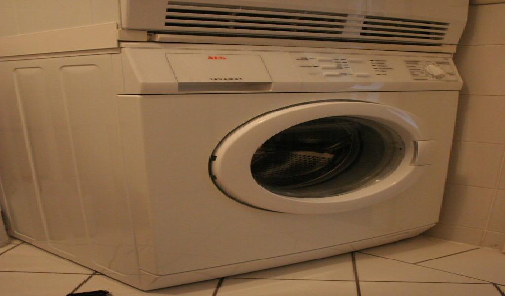 Waschmaschinen und wäschetrockner u aufstellen und betreiben in