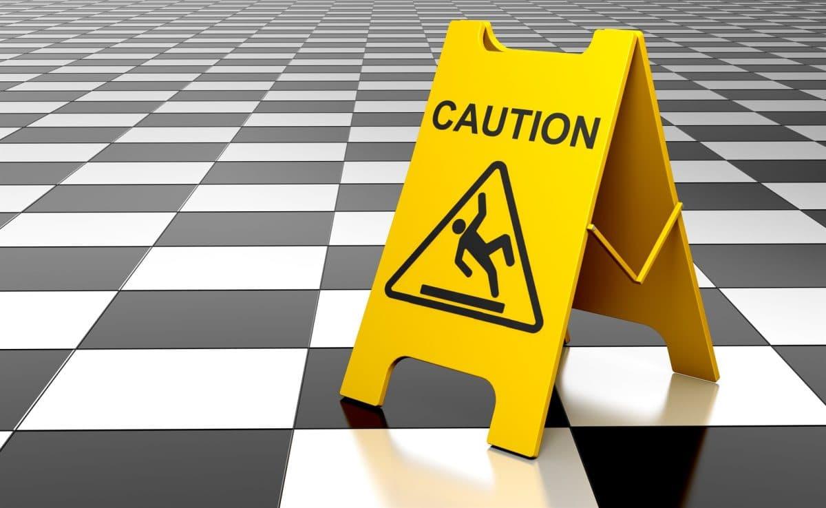 treppenhaus frisch geputzt – mieter stürzt - schadensersatzansprüche