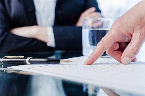 Aufhebung eines Mietvertrages