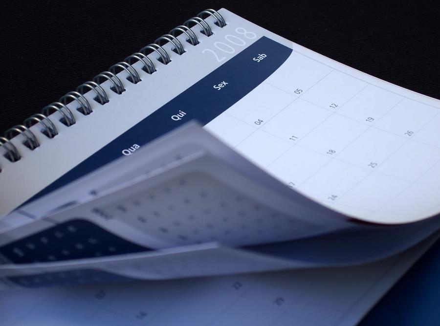 Kalender Kündigungsdatum Samstag