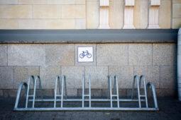 Fahrradständer wohnwerterhöhendes Merkmal?