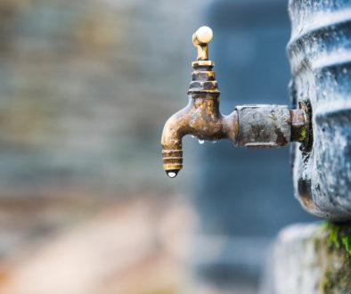 Wiederherstellung der Funktionsfähigkeit eines Außenwasserhahns