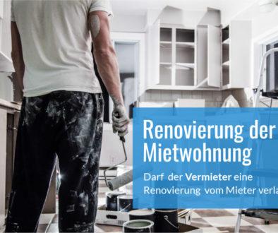 Renovierung Mietwohnung