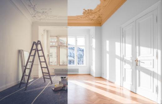 Wohnungsrenovierung - Wann ist sie umfassend renoviert?