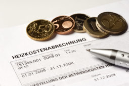 WEG – Heizkostenabrechnung - Einzeljahresabrechnung