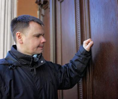 Wenn der Vermieter unangekündigt vor der Tür steht